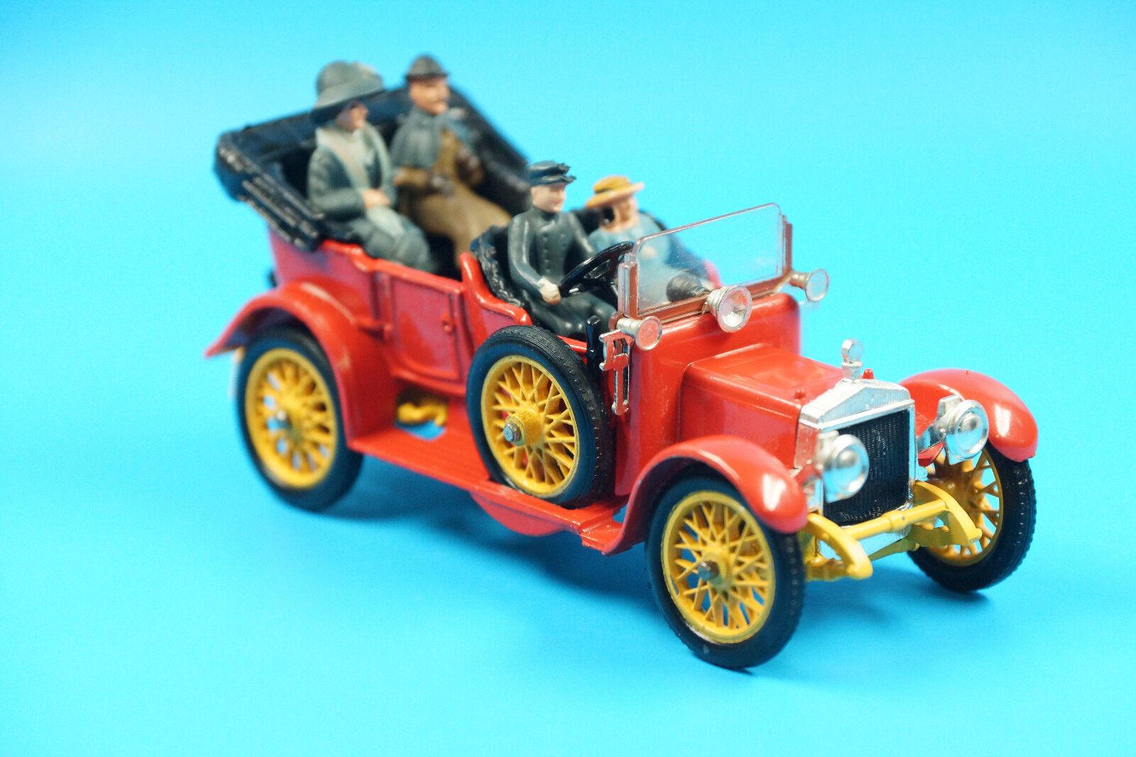 Corgi Classics 38 Daimler 1910 mit Figuren (J92  | Feinbearbeitung