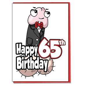 Image Is Loading Funny Willy 65th Birthday Card Ladies Friend BFF