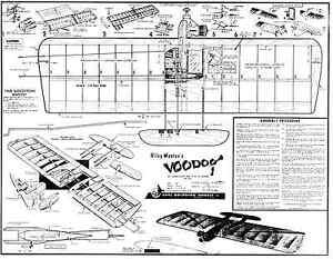 Carl Goldberg Voodoo Plan Ligne De Contrôle Combat Modèle Pour .35-afficher Le Titre D'origine Bonne RéPutation Sur Le Monde