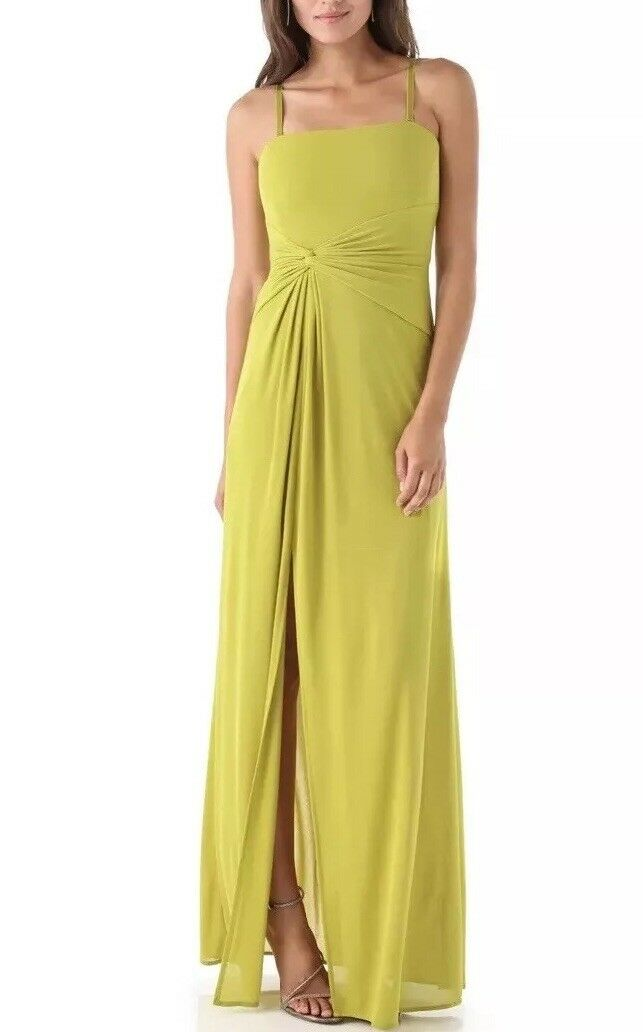 nouveau BCBG MAX AZRIA DILL MARYANNE STRAPLESS GOWN LINED Taille S