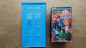Doctor Who The Trial Of A Time Lord Tardis Tin Set Colin Baker