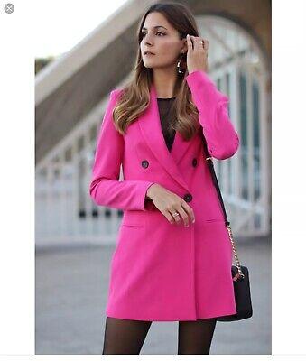 With Stradivarius Zara Size U Group FavEbay Pink Blazer Bloggers Dress M k10 pzVqSUMG