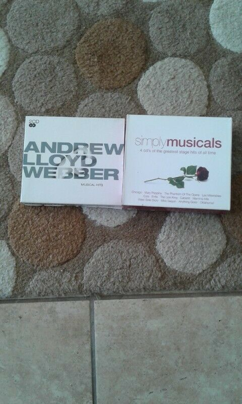 Musical CDs for sale