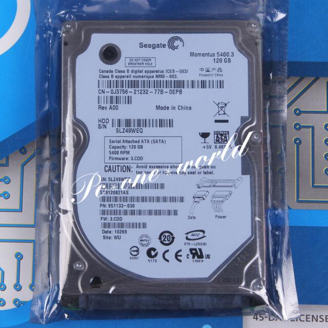 "100% OK ST9120821AS Seagate 120 GB 2.5"" 5400 RPM 8 MB SATA Hard Disk Drive HDD"