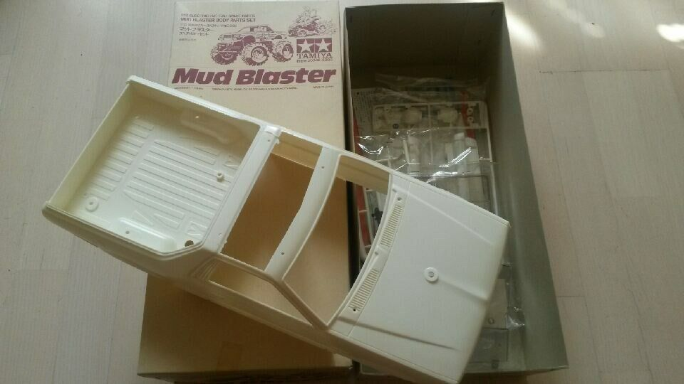 Vintage Tamiya  Mud Blaster corpo Parts Set (58077)  prezzi equi
