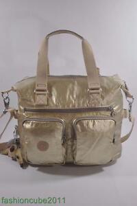 GOLDEN BEIGE New With Tag Kipling Women/'s Erasto S Shoulder Bag HB6319 202