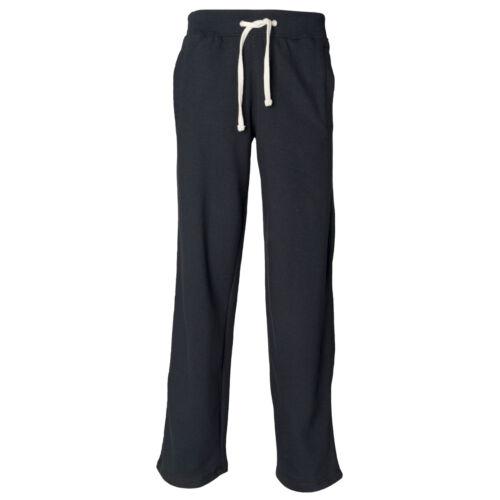 Front Row Dobladillo Abierto Pantalones de pista Jog S-XL FR600