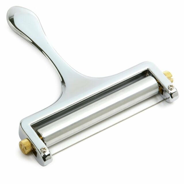 Norpro Zinc Alloy Cheese Slicer with Stainless Steel Wire
