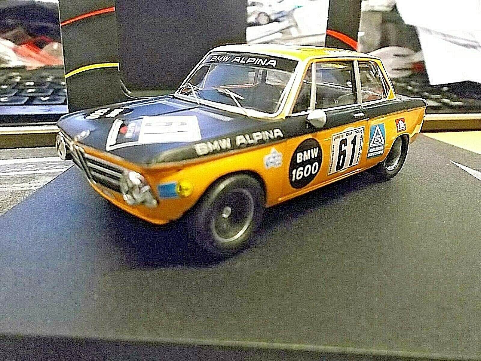 BMW 2002 1600  61 Alpina Tuning DRM Nurburgring Lauda  61 1970 Trofeu 1 43