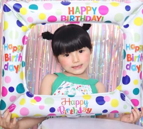 Joyeux Anniversaire Gonflable Cadre Photo Fun Fête Enfants ballon