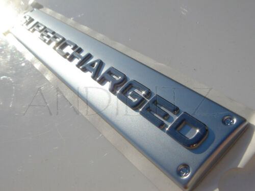 GENUINE RANGE ROVER SPORT VOGUE P38 SUPERCHARGED BOOT BADGE TAILGATE EMBLEM LOGO