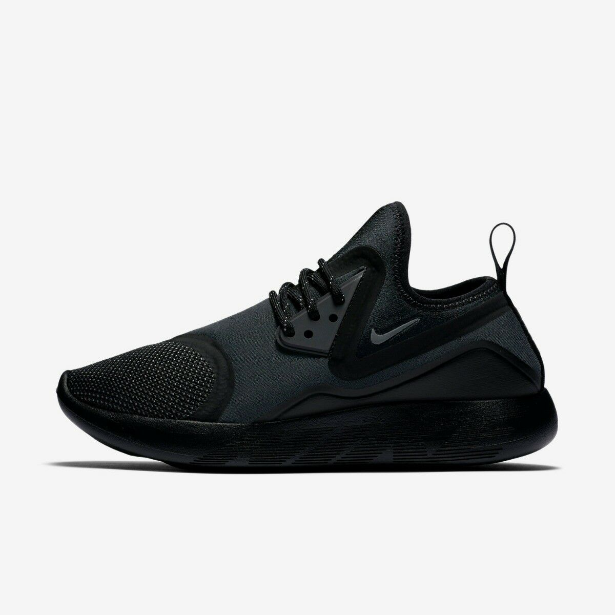NIKE LUNARCHARGE ESSENTIAL WOMENS 3-7 RUNNING TRAINER SHOE SIZE 3-7 WOMENS BLACK NEW e3a833
