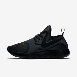 Nike lunarcharge Essenziale Da Donna Scarpa Da Corsa Scarpa Taglia 37 Nero Nuovo