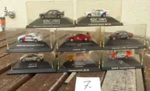 Herpa-Konvolut-1-87-H0-8-Stueck-PKW-DTM-Rennwagen-BMW-Ferrari-MB-Mercedes-Aud