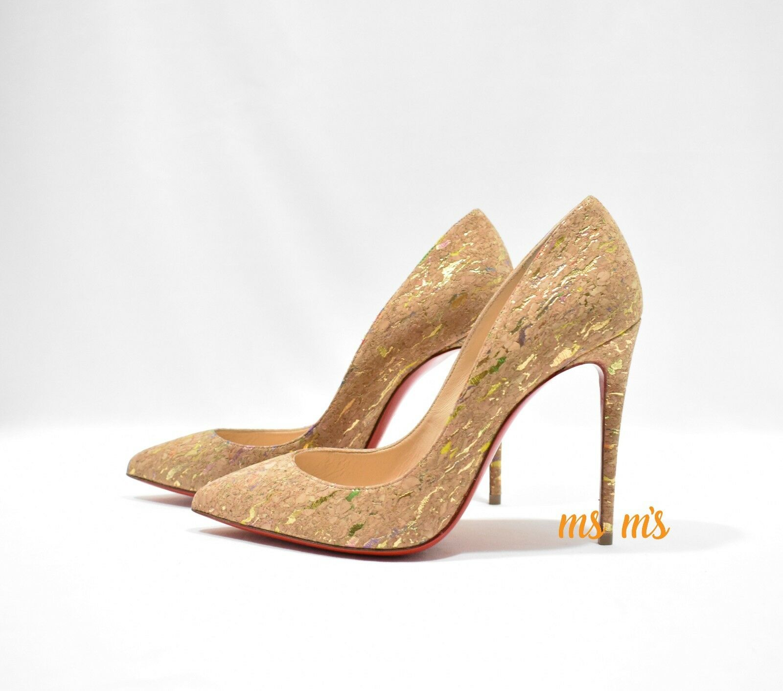 low priced 70462 46b12 New Christian Louboutin Pigalle Pigalle Pigalle Follies Cork ...