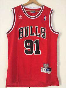 Canotta-nba-basket-Dennis-Rodman-jersey-Chicago-Bulls-maglia-Retro-S-M-L-XL-XXL