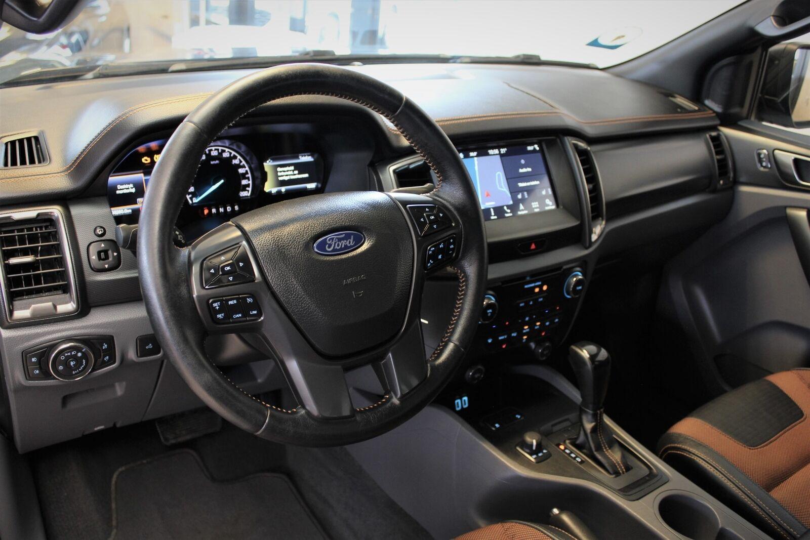 Ford Ranger 3,2 TDCi Rap Cab Wildtrak aut. 4x4 - billede 7