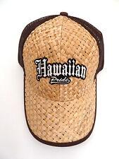Lauhala Baseball Cap with Hawaiian Pride - Limited Special Edition - Tan