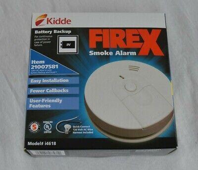 Kidde I4618 120v Ac Dc Smoke Alarm With Battery Backup