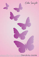 Stencil Butterfly Kisses Garden Country Cabin Porch Deck Art Craft Sign U Paint