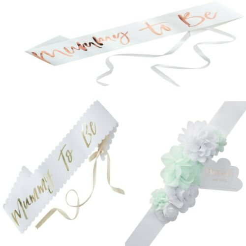 BABY SHOWER MUM TO BE SASHES LOVELY BABY SHOWER GIFT
