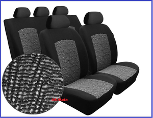 Set Completo De Tela Universal Ajuste cubiertas de asiento de coche Nissan X-Trail