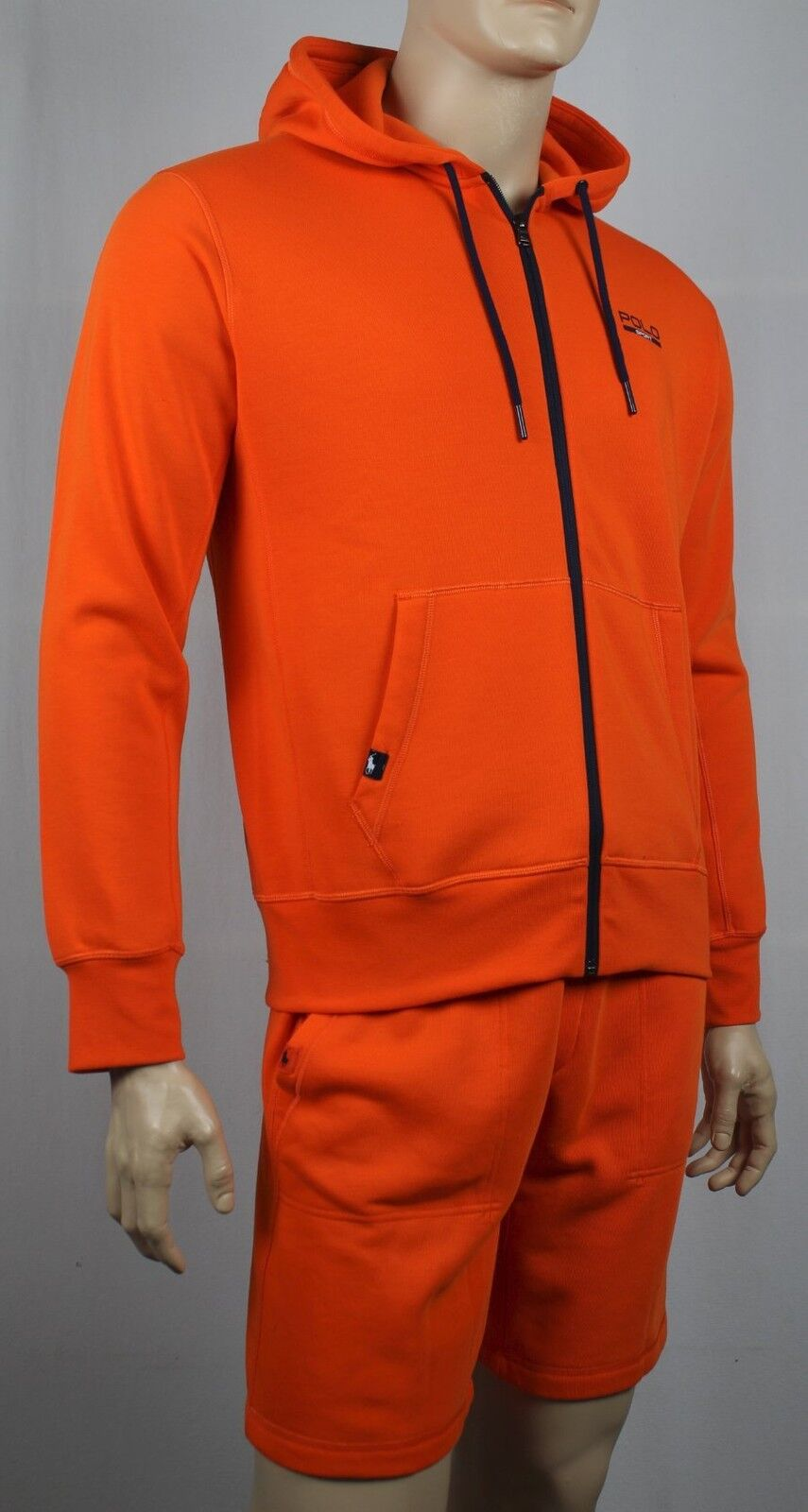 Polo Ralph Lauren Sport Orange Athletic Hoodie NWT
