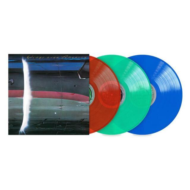 Paul McCartney & Wings Over America ( 3  color vinyl) Sealed