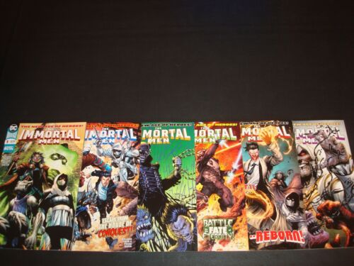 Immortal Men 1-6 Complete Comic Lot Run Set Dark Nights Metal Collection