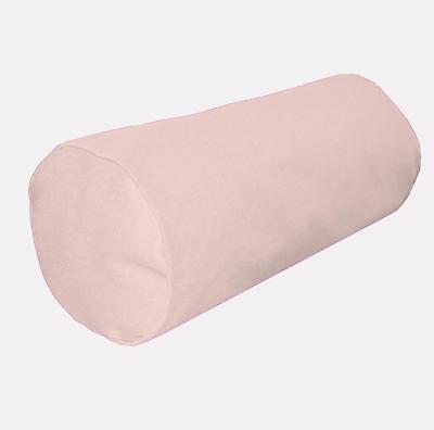 Aw02g Red Plain High Quality 12oz Cotton Bolster Yoga Cushion Cover Custom Size