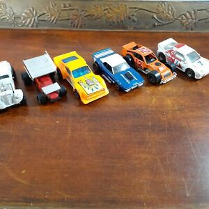 Vintage Matchbox Race Car Lot 6 Toy Cars Die Cast Ebay