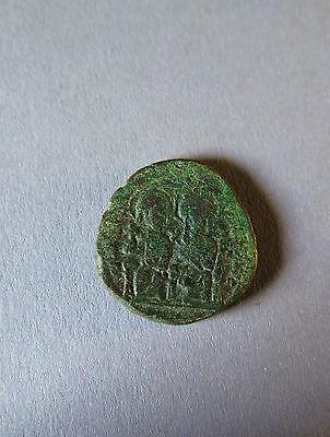 565-578 N.chr.,constantinopel,follis Schnelle Lieferung 6044:byzanz Wohl Justinus Ii. Eine Hohe Bewunderung Gewinnen