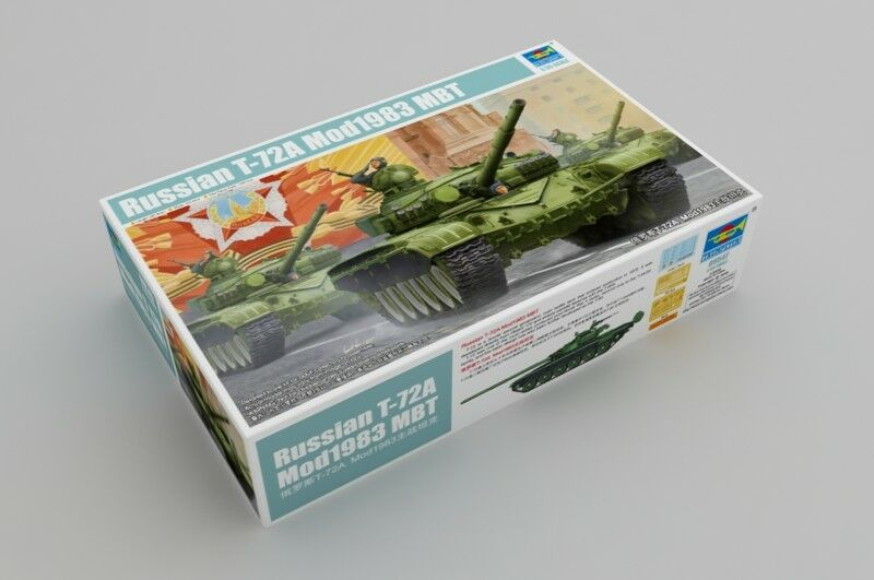 Trumpeter 1/35 Russo T-72a Mod. 1983 Mbt #09547