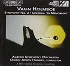 Vagn Holmboe Symphony 2 Sinfonia Aarhus so Hughes CD 1996