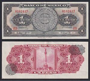 México 1 Peso 1969 Sup /Au A-04