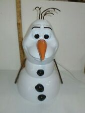 Disney Olaf Snow Cone Maker With Cups And 2 Ice Molds White