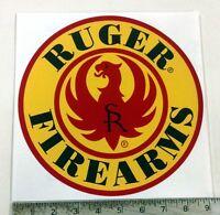 Ruger Firearms Gun Weapon Sign Decal 9diameter