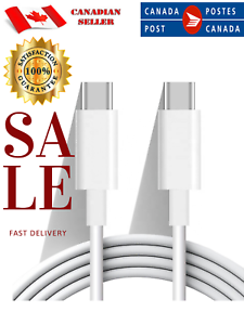 USB-Type-C-to-USB-C-3-1-Charger-Data-Sync-Cable-Cord-For-Samsung-A5-A8-A50-S9