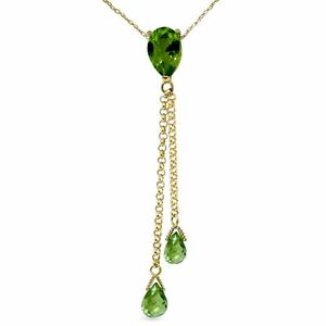 Genuine-Peridot-Gems-Chandelier-Pendant-Necklace-in-14K-Yellow-White-Rose-Gold
