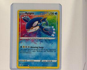New Listing Kyogre Amazing Rare 021/072 Pokemon Shining Fates