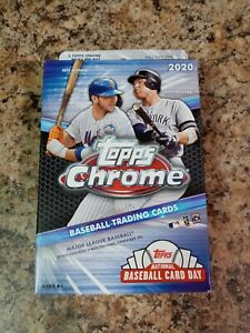 2020 Topps Chrome Baseball Factory Sealed Hanger Box NEW Luis Robert Bo Yordan ?