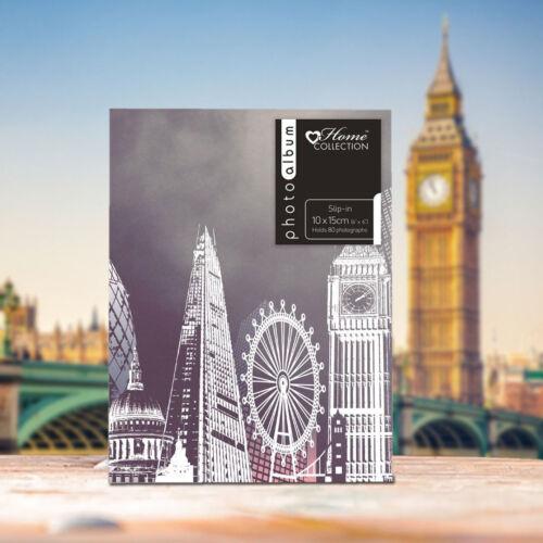 London Attractions diseño antideslizante en 4 X 6 álbum de fotos contiene 80 fotos mejor Regalo