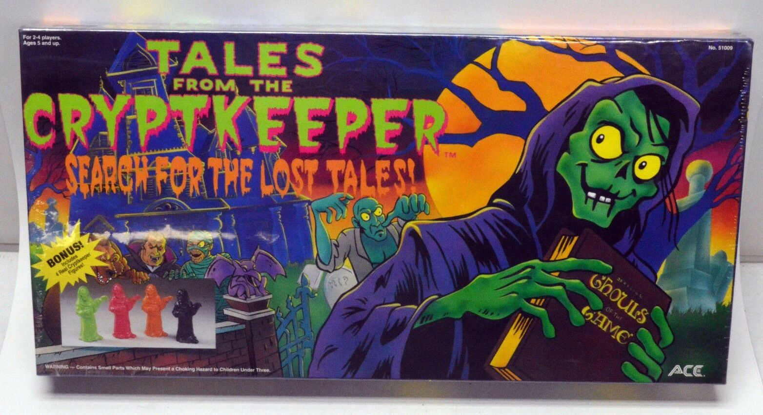Tales From The Cryptkeeper Search for the Lost Tales ACE jeux 1994 encore scellé
