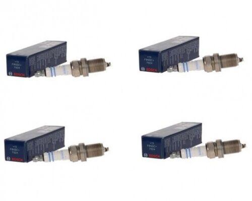 TOYOTA COROLLA E12 1.4 VVT-i 97PS Bj.01-2002 12-2006 4x Zündkerzen BOSCH
