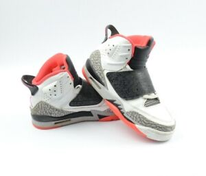 new style 6d859 459f9 Details about Nike Air Jordan Son of Mars GS Hot Lava White Black  512246-105 Size 6Y EU 38.5