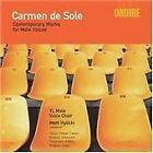 Carmen de Sole: Contempory Works for Male Voices (2005)