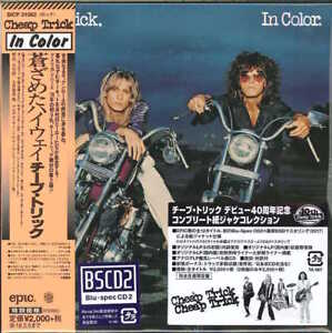 CHEAP-TRICK-IN-COLOR-7-JAPAN-MINI-LP-BLU-SPEC-CD2-BONUS-TRACK-Ltd-Ed-E25