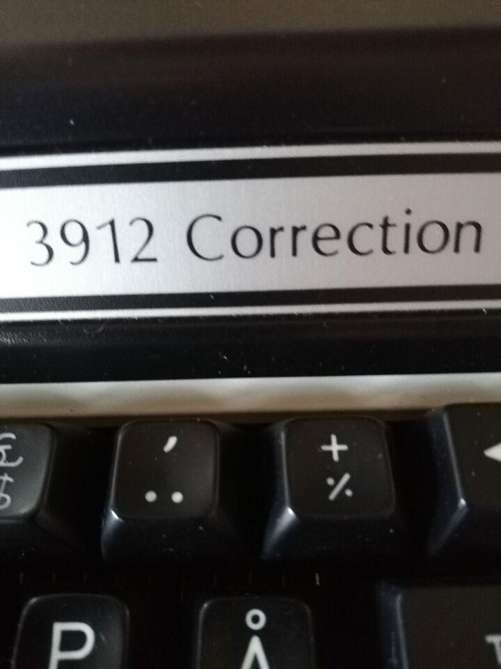 Skrivemaskinepå til el.
