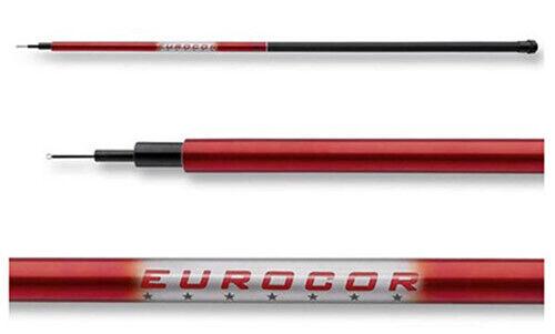 Stippe Stipprute Cormoran Eurocor Tele Pole unberingt 3 4 5 6 7 Meter Auswahl