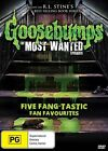 The Goosebumps - Most Wanted Episodes (DVD, 2014)